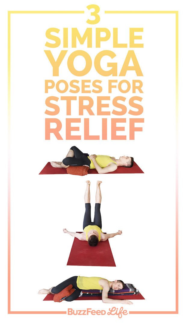 The 3 Best Yoga Poses For Stress Relief Sydney Corporate