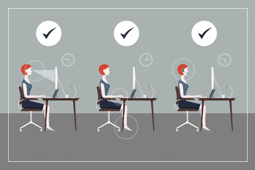 Healthy Desk Posture How To Guide Sydney Corporate Yoga